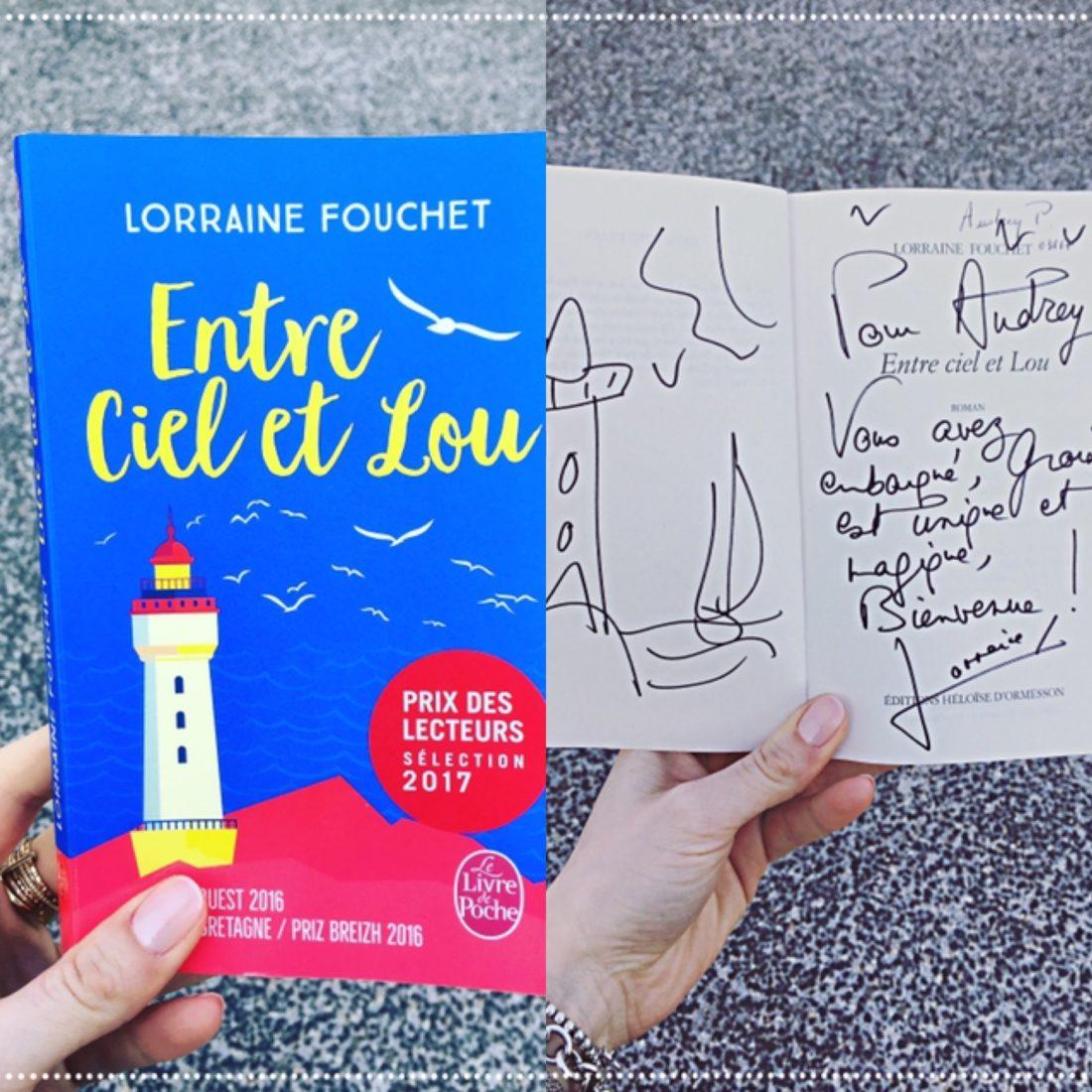 booksnjoy - entre ciel et lou - lorraine fouchet - feel-good