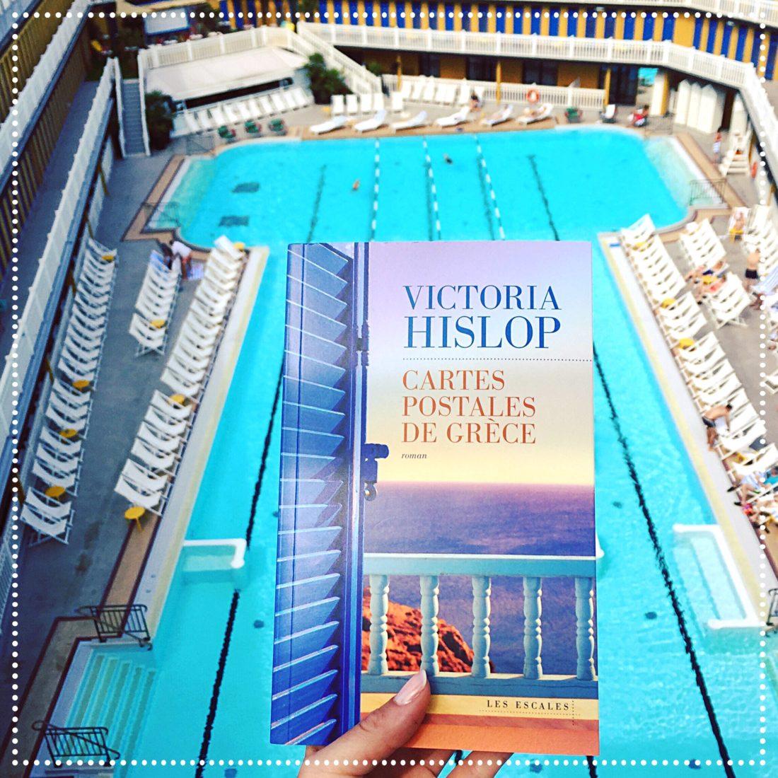 booksnjoy - cartes postales de grece - victoria hislop