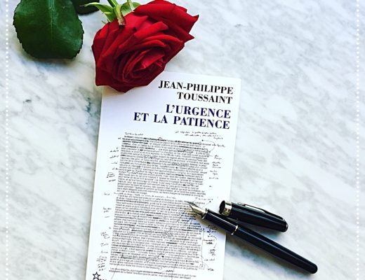 booksnjoy - lurgence et la patience - jean-philippe toussaint