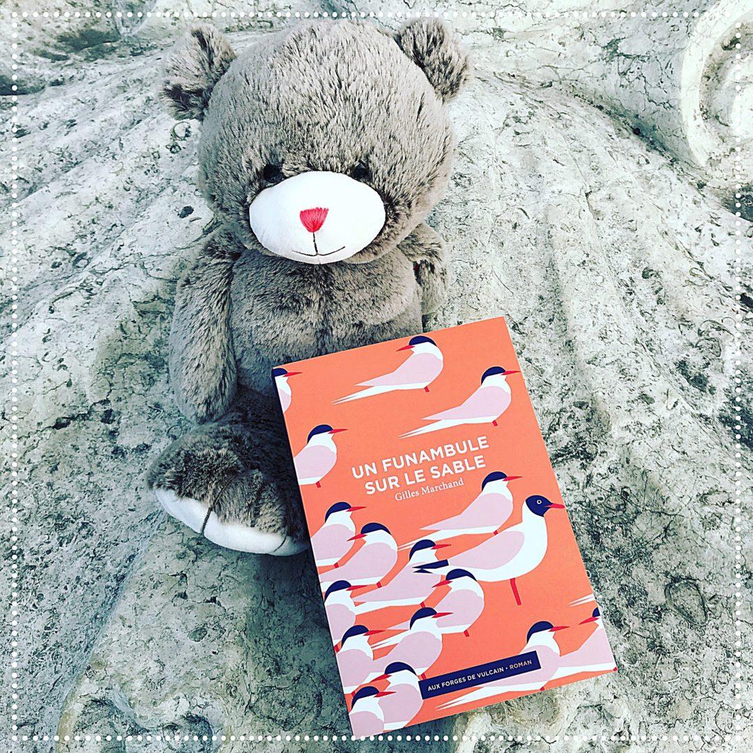 booksnjoy - un funambule sur le sable - gilles marchand