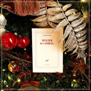 booksnjoy - winter is coming - pierre jourde