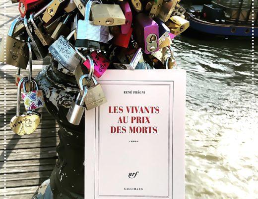 Les vivants au prix des morts, René Frégni : Prix des Lecteurs Gallimard 2017