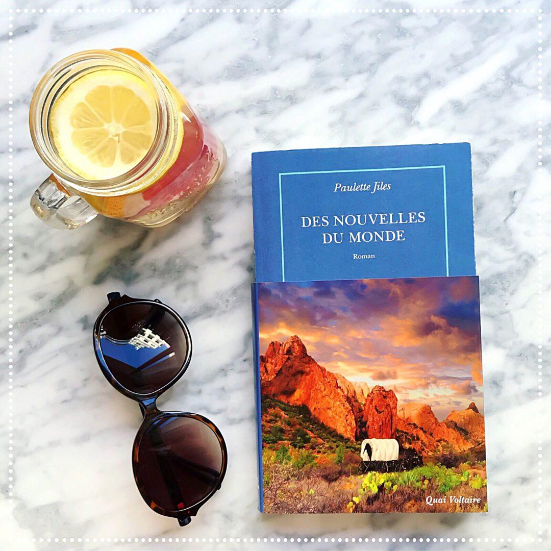 booksnjoy-Des nouvelles du monde, Paulette Jiles - roman de l'été - western