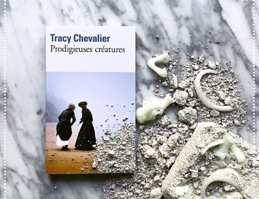 booksnjoy-Prodigieuses créatures, Tracy Chevalier : À la chasse aux fossiles sur la côte jurassique ! - mary anning