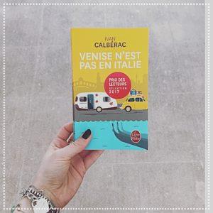 booksnjoy - venise n'est pas en italie - ivan calbérac - fell-good