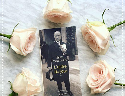 booksnjoy - ordre du jour - eric vuillard - goncourt