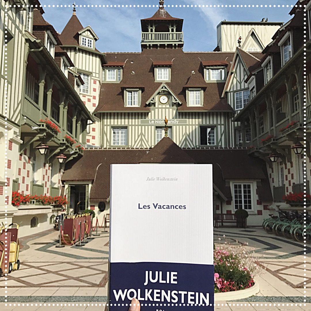 booksnjoy - les vacances - julie wolkenstein