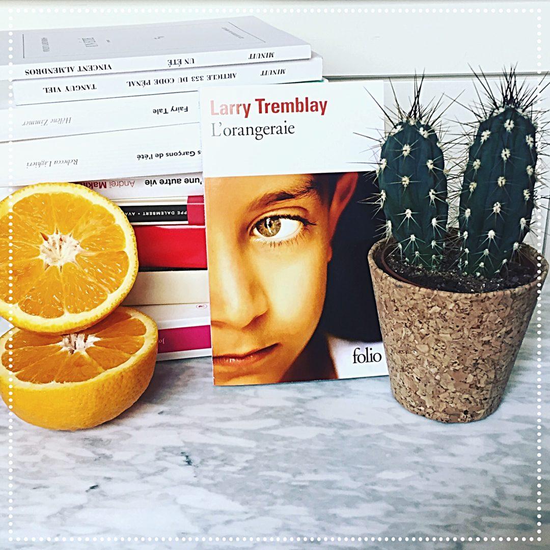 booksnjoy - lorangeraie - larry tremblay