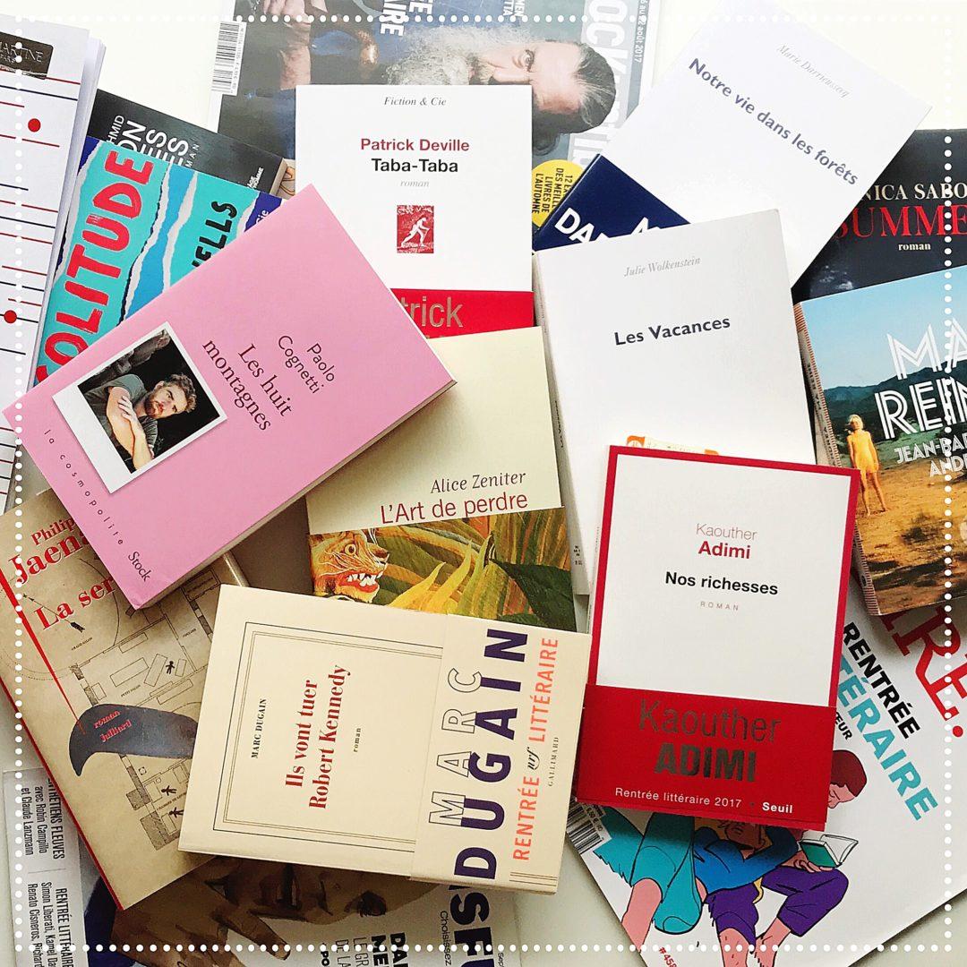 booksnjoy - rentree litteraire