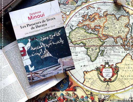 booksnjoy - les passeurs de livres de daraya - delphine minoui