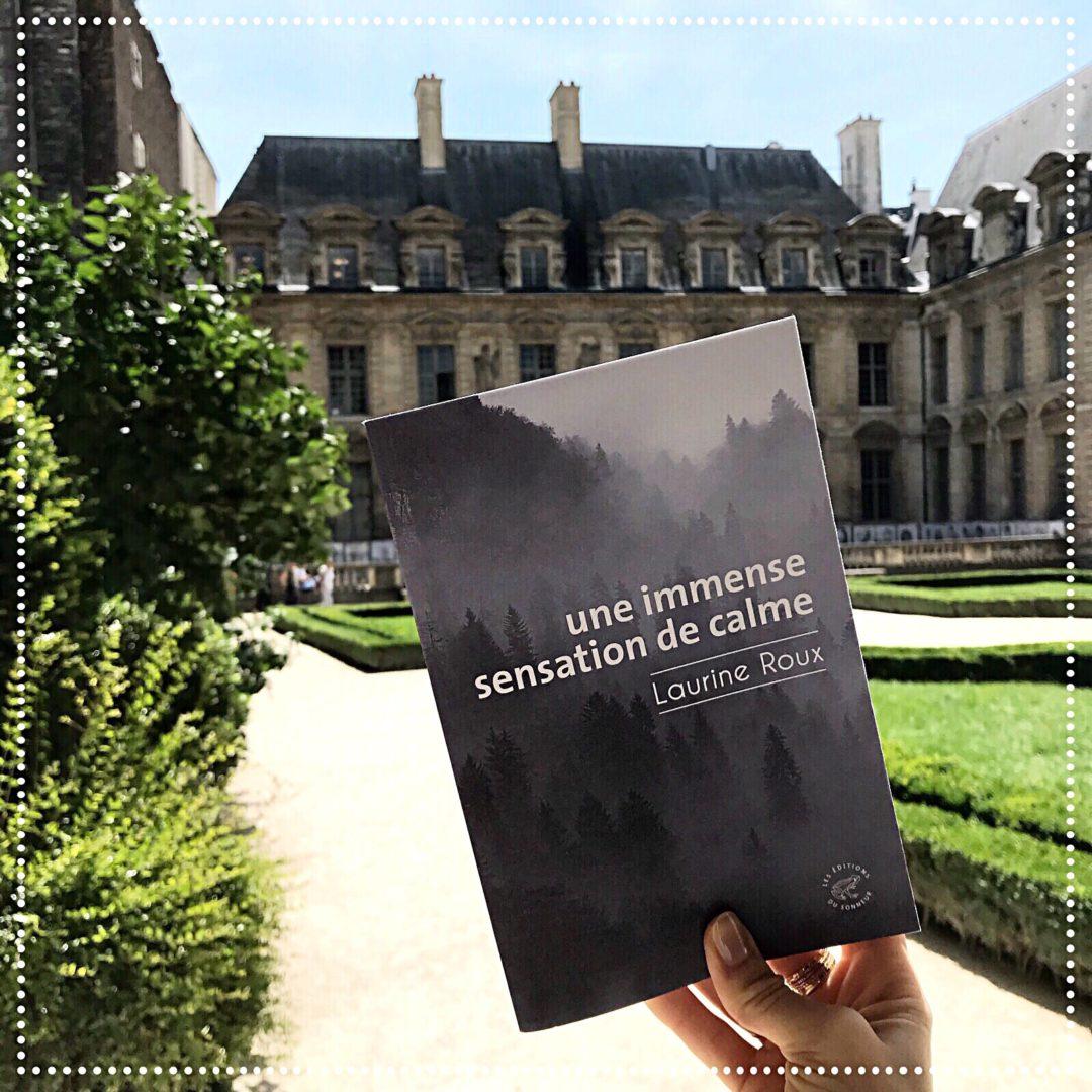 booksnjoy-Une immense sensation de calme, Laurine Roux : la nature triomphante - conte - dystopie