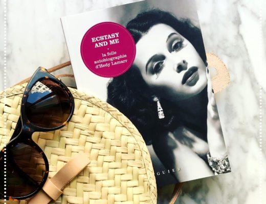 booksnjoy - Ecstasy and me, La folle autobiographie d'Hedy Lamarr : la bio sulfureuse du sex-symbol hollywoodien (Lecture d'été #3)